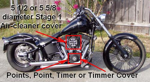 Timer Cover Just Like This Harley Davidson Forums